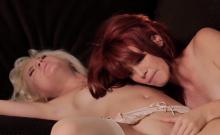 lesbians Elle Alexandra and Odette Delacroix