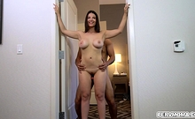 Big Tits Latina Mom Lets Stepson Fuck Her Tight Milf Pussy