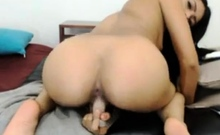sexy latina riding and soles