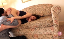 College teen amateur doggystyle nailed