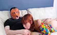 Foot gag bondage first time Hatefuck my hippie asshole