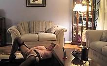 Mature Woman Masturbating